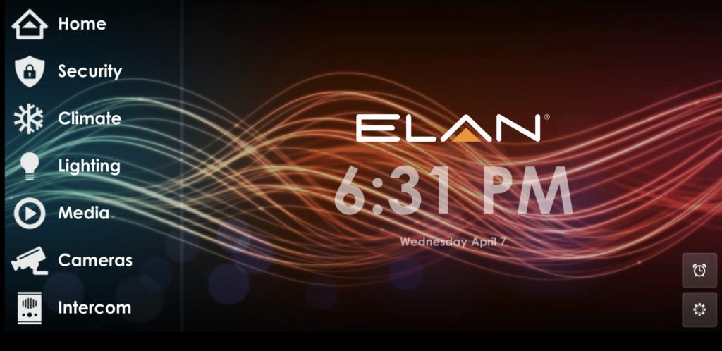 Elan Home Automation Interface