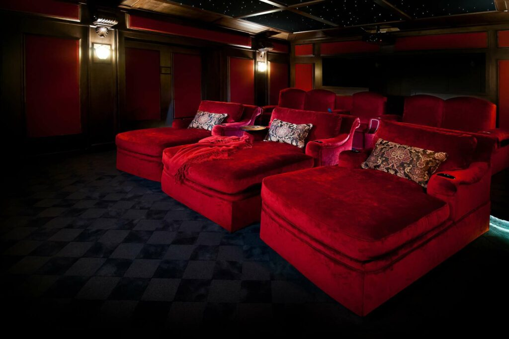 Cinema Chaise by Elite Home Theater Seating