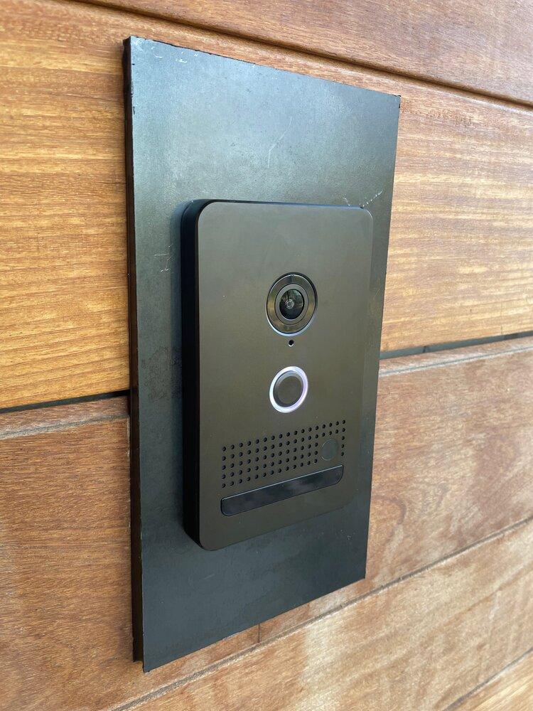 Elan Video Doorbell Installation