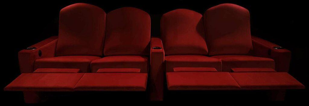 Home Theater Love Seat & Sofa