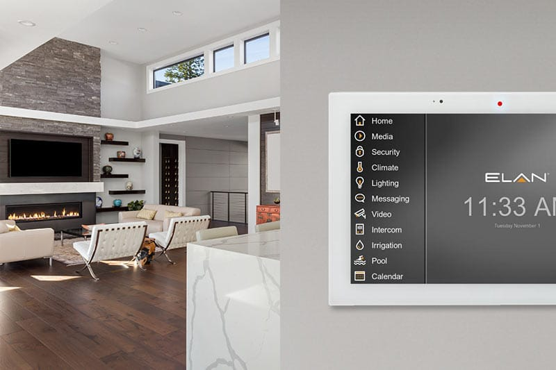 Elan Home Automation Touch Panel