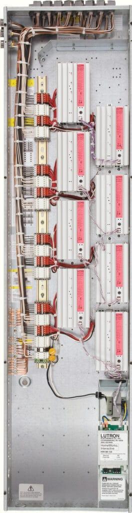 Lutron Panelized Lighting Wiring